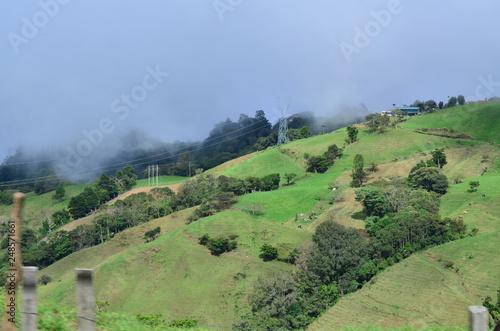 Fotobehang Olijf Wonderful mountains