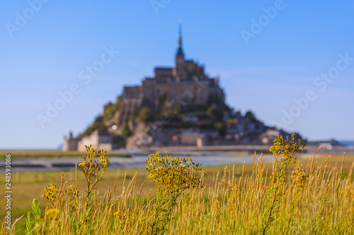 Photo  Mont Saint Michel Abbey - Normandy France
