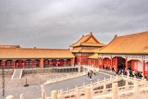 Beijing, Forbidden city Wallpaper Mural