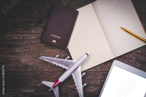 Obraz na plátně  Travel concept