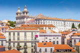 Aerial view of Lisbon, Portugal - 248600223