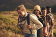 canvas print picture - Hiking trip content for social media