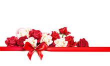 Roses Decoratin Banner