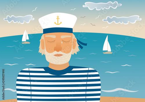Photo Sad sailor