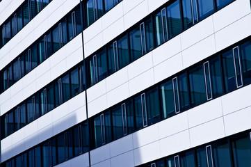 Modern design office building exterior