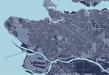 Map Of The City Of Vancouver ,...