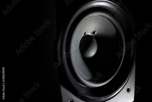 Fotografía  Stereo speaker closeup