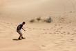 Dubai Wüste Sandboarding
