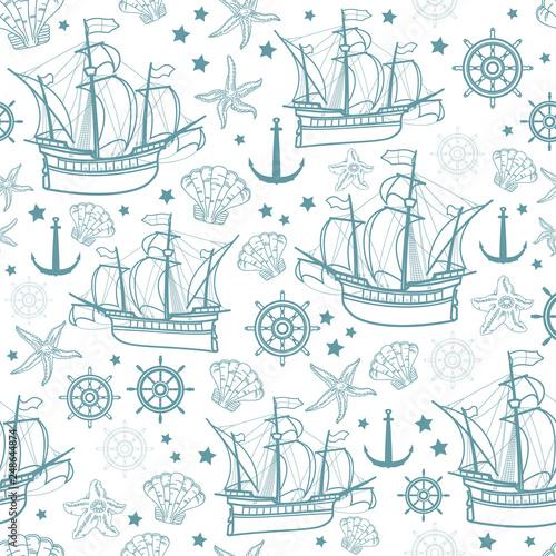 wektorowy-bezszwowy-wzor-na-morskim-temacie-zaglowki