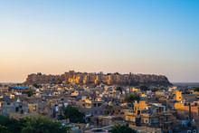 City View With Jaisalmer Fort In Rajasthan, India