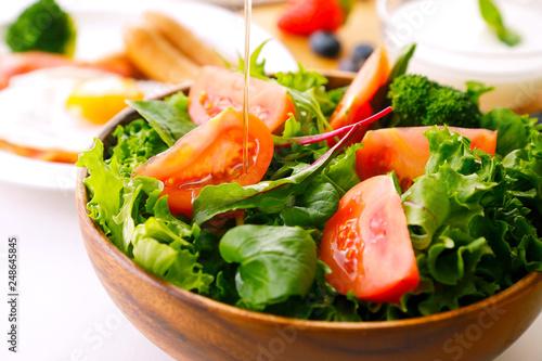 Obraz na plátně サラダ Salad