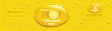 Yellow Lemon Juice Packaging W...