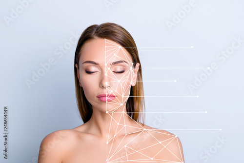 Foto Product advertising anti-age uplift concept