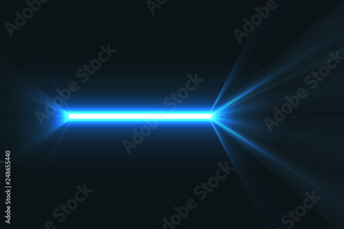 Photo Right neon line, colorful element illustration