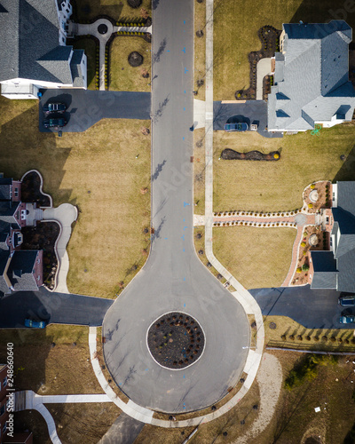 Abstract Aerial of Plainsboro New Jersey - Buy this stock