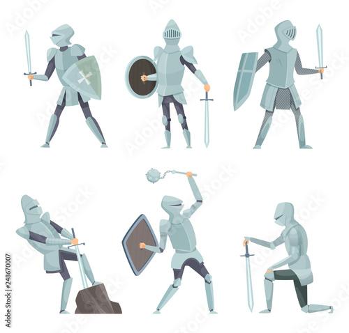 Fotomural Cartoon knights