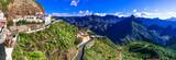 scenic Artenara  - Gran Canaria's highest mountain village. Canary islands
