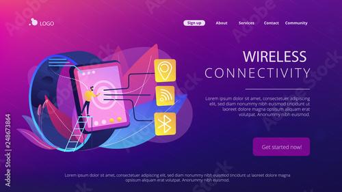 Smartwatch with Wi-Fi, bluetooth and GPS  Wireless