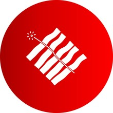 Vector Fire Work Icon