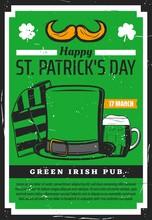 Saint Patrick Day Irish Beer P...