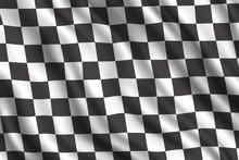 Car Rally Racing 3D Realistic Flag