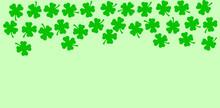 St Patricks Day Side Border Of...