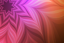 Abstract Neon Flower.