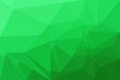 canvas print picture - Green polygonal abstract background blurry design.