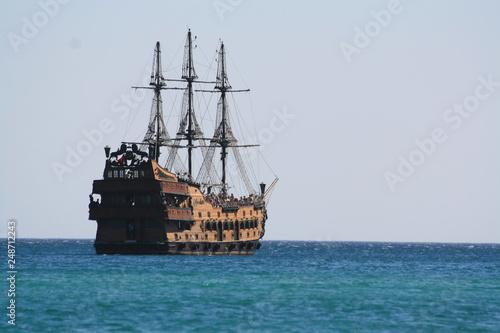 Obraz na płótnie pirate