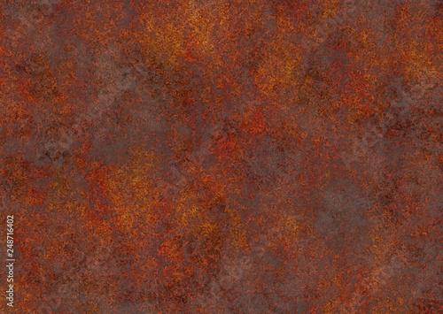 Fotografiet  rust coroded industrie background