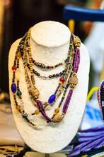 Beautiful Stone Necklace On Je...