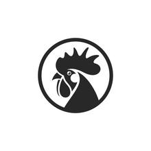 Black Chicken. Logo