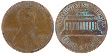 American Coin Of One Cent 1977...