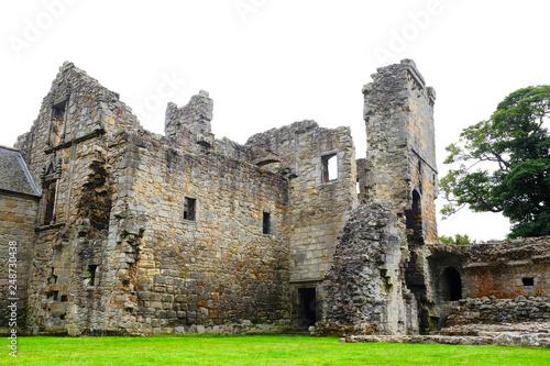 Obraz na płótnie Castillo en ruinas