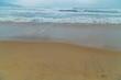 wave of blue ocean on Da Nang beach, Vietnam