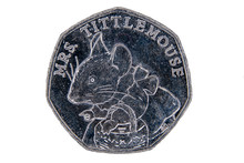 Fifty Pence Coin Displaying Mr...
