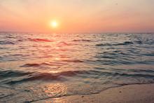 Interesting Sky Summer Landscape Dawn / Early Morning Sunrise