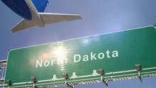 Airplane Take Off North Dakota
