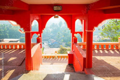 Maruti Temple (Hanuman Temple) in Panjim Canvas Print