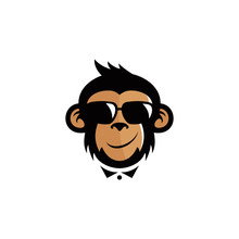 Monkey Mascot Logo Design
