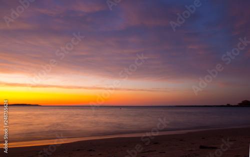 Sunset at Elk Rapids, Michigan