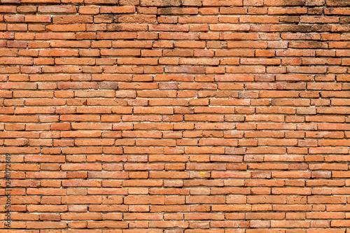 Poster Brick wall Brick walls at beautifully