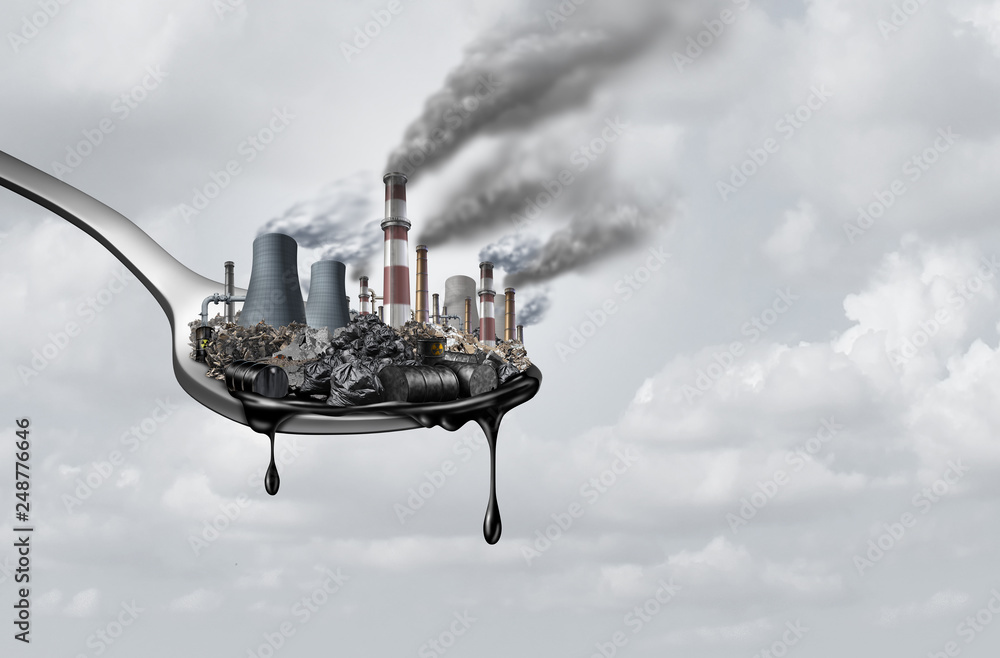Fototapety, obrazy: Pollution In Food