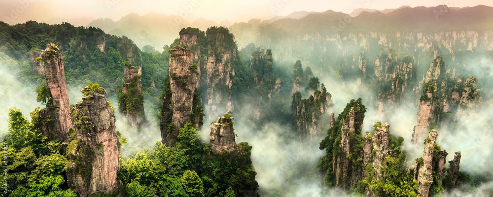 Fototapeta Zhangjiajie Wulingyuan