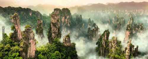 Fotografie, Obraz Zhangjiajie Wulingyuan