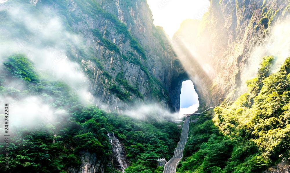 Fototapety, obrazy:  The Heaven's Gate.