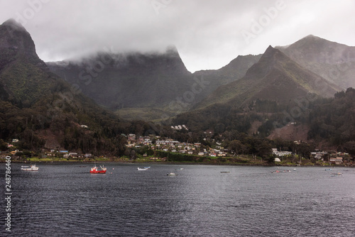 Photo San Juan Bautista on Robinson Crusoe Island