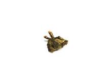 Dry Green Tea Close Up