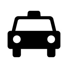 タクシーのマーク
