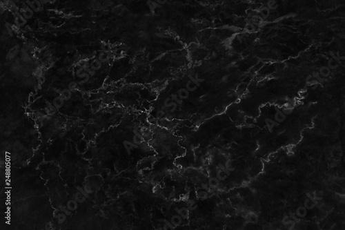 Foto op Canvas Stenen black marble texture background